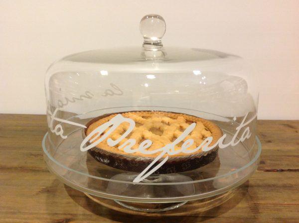 Simple Day Campana in vetro cm. 28,50 La mia torta preferita