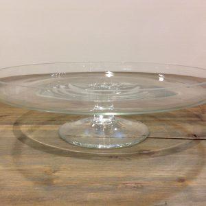Simple Day Alzata in vetro bassa diametro cm. 30