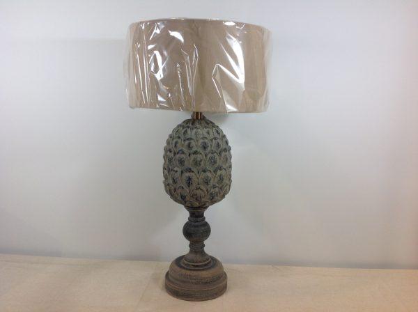 Amadeus Base lampada a pigna tortora decapata