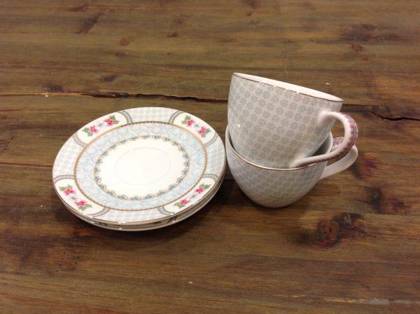 Pip Studio set 2 tazzine da caffè in porcellana
