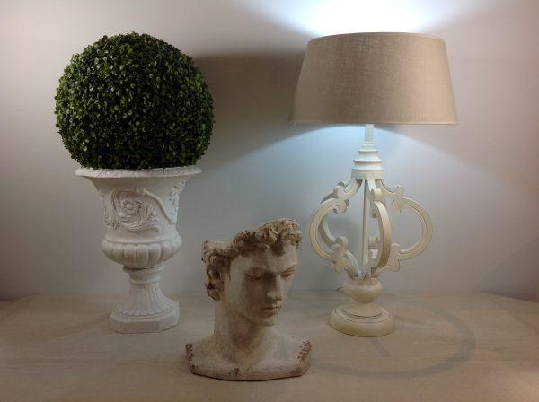 Clayre & Eef Base lampada in legno panna