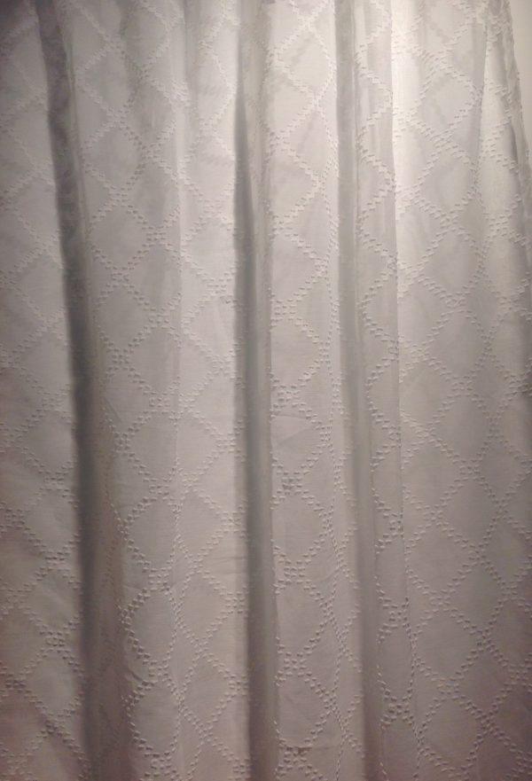 Blanc Mariclò tenda bianca con passanti 145x280+10