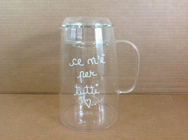 Simple Day Caraffa con portaghiaccio in vetro  Ce n'è per tutti