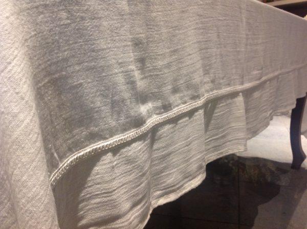 L'Atelier 17 Tovaglia rettangolare misto lino Duchessa 160x270