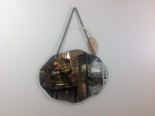 Blanc Mariclò Specchio con catena